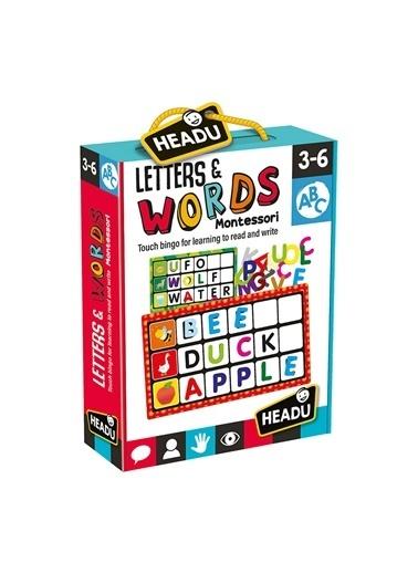 Headu  Montessori İngilizce Kelime Aktivite 3- Renkli